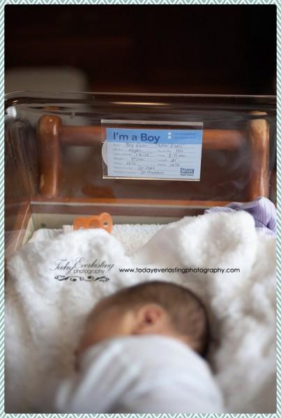 Morris, IL Newborn Hospital Photographer Adler 10