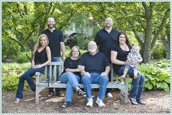 Chicago Family Photographer | Adamec Family | Lilacia Park