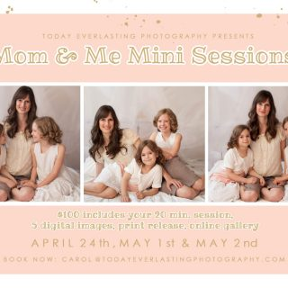 Mom & Me Mini Sessions